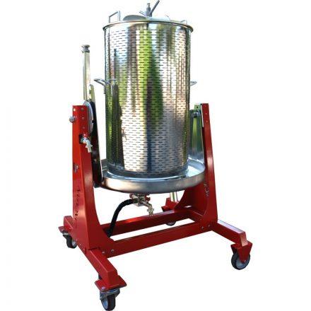 Dönthető víznyomásos prés 250l