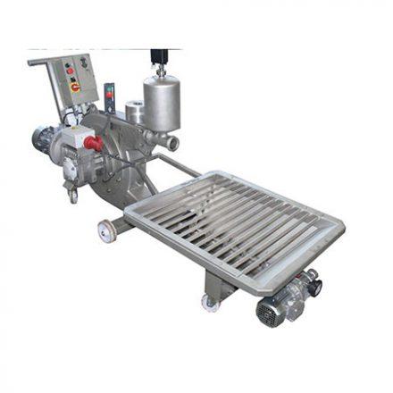 Perisztaltikus szivattyú beöntőgarattal (200 hl/h)