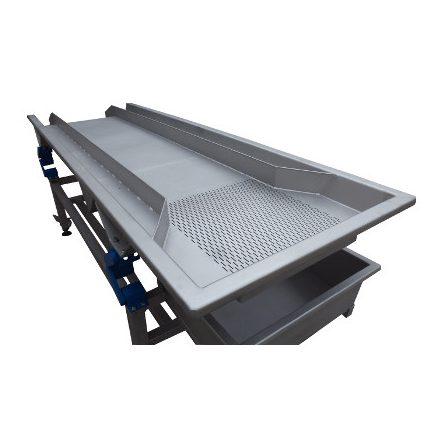 Vibrációs válogatóasztal 3000x800 mm